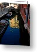 Valeriy Mavlo Greeting Cards - Venice-13 Greeting Card by Valeriy Mavlo