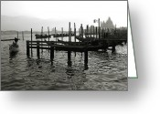 Veneto Greeting Cards - Venice Canal Grande III Greeting Card by Nina Papiorek
