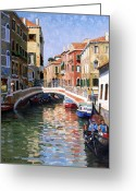 Roelof Rossouw Greeting Cards - Venice in September Greeting Card by Roelof Rossouw