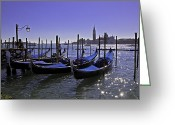 Vacationers Greeting Cards - Venice is a magical place Greeting Card by Madeline Ellis