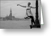 Kaiser Greeting Cards - Venice Greeting Card by Ralf Kaiser