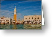 St Marc Greeting Cards - Venices Front Door Greeting Card by Eric Tressler