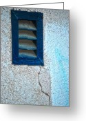 Concrete Greeting Cards - Venting Crack  Greeting Card by Jerry Cordeiro