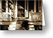Veranda Greeting Cards - Veranda Greeting Card by Marsha Charlebois