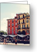 Benjamin Matthijs Greeting Cards - Verbania Greeting Card by Benjamin Matthijs