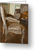 Versailles Greeting Cards - Very elegant. Very Marie Antoinette. Greeting Card by Georgia Fowler