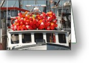 Long Beach Island Photos Greeting Cards - Vessel 73 Greeting Card by Joyce StJames