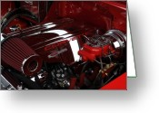 Huisken Greeting Cards - Vette Greeting Card by Lyle  Huisken