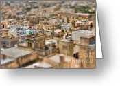 Rabat Greeting Cards - Victoria  Greeting Card by Joerg Lingnau