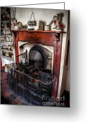 Pan Greeting Cards - Victorian Range Greeting Card by Adrian Evans