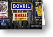 Shell Digital Art Greeting Cards - Victorian Signs Greeting Card by Adrian Evans