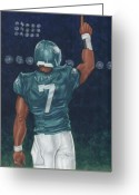 Qb Greeting Cards - Victorious Greeting Card by Clive ARNO