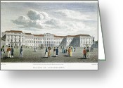 Viennese Greeting Cards - Vienna, 1823 Greeting Card by Granger
