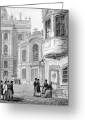 Viennese Greeting Cards - Vienna: Hofburgtheater Greeting Card by Granger