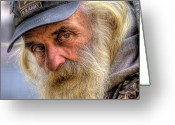 Vet Photo Greeting Cards - Viet Nam Vet Greeting Card by Don Wolf