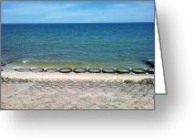 Phuong Tu Greeting Cards - Vietnam beach  Greeting Card by Phuong Tu