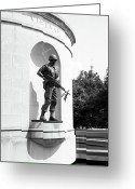 Legislature Greeting Cards - Vietnam War Memorial  Greeting Card by Thomas R Fletcher