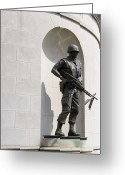 Legislature Greeting Cards - Vietnam War Remembered  Greeting Card by Thomas R Fletcher