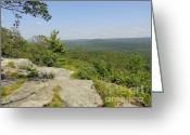 Western Massachusetts Greeting Cards - View from Peaked Mountain Greeting Card by Meandering Photography