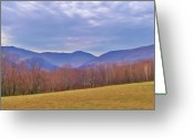 Mountains Photographs Greeting Cards - View From Von Trapps Lodge 2 Greeting Card by Bill Cannon