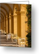 Villa Deste Greeting Cards - Villa DEste Greeting Card by Neil Buchan-Grant