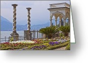 Seductive Photo Greeting Cards - Villa Monastero - Varenna - Lago di Como Greeting Card by Joana Kruse