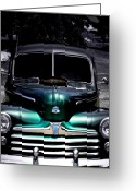 Antique Cars Greeting Cards - Vintage 1948 Ford Greeting Card by Steven  Digman