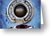 Delivery Greeting Cards - Vintage detail of a gas pump Greeting Card by Priska Wettstein