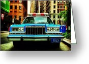 Picoftheday Greeting Cards - Vintage Nypd. #car #nypd #nyc Greeting Card by Luke Kingma