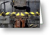 Tanker Train Greeting Cards - Vintage Railroad Train . 7D11601 Greeting Card by Wingsdomain Art and Photography