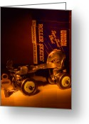 Roller Skates Greeting Cards - Vintage Roller Skates Greeting Card by Jerry Taliaferro