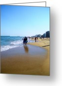 Creative Passages Photo Greeting Cards - Virginia Beach Greeting Card by Cassandra Donnelly
