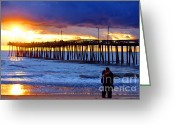 Beach Landscapes Greeting Cards - Virginia Is for lovers Greeting Card by Christopher  Ward