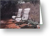 Most Painting Greeting Cards - Virginias Repose Greeting Card by David Lloyd Glover