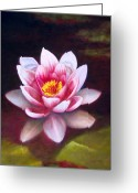 Photo-realism Painting Greeting Cards - Virtue Greeting Card by Jerome Lawrence