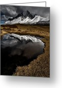 Beautiful Winter Greeting Cards - Visions Greeting Card by Daniel Zrno