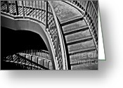 Railings Greeting Cards - Visions Of Escher Greeting Card by Steven Milner