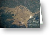Flooding Photo Greeting Cards - Vistula River Flooding, Southeastern Greeting Card by NASA/Science Source