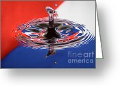 Splashes Greeting Cards - Viva Cuba Libre Greeting Card by Susan Candelario