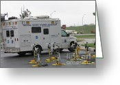 "\\\""storm Chasers\\\\\\\"" Greeting Cards - Vortex2 Field Command Vehicle Greeting Card by Science Source"