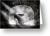 Manchester Greeting Cards - Voyage To Infamy Greeting Card by Peter Chilelli