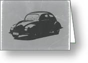 European Cars Greeting Cards - VW Beetle Greeting Card by Irina  March