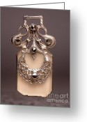 Vintage Jewelry Greeting Cards - W1 16 Greeting Card by Dwight Goss