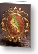 Vintage Jewelry Greeting Cards - W1 5 Greeting Card by Dwight Goss
