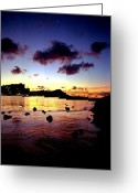 Kevin W .smith Greeting Cards - Waikiki Lagoon Dawn Greeting Card by Kevin Smith