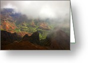 Waimea Greeting Cards - Waimea Revealed Greeting Card by Mike  Dawson