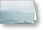 Unique Gifts Greeting Cards - Waiola Water of Life Greeting Card by Sharon Mau