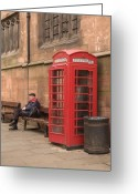 Big Ben Greeting Cards - Waiting on a Call Greeting Card by Mike McGlothlen