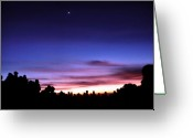 Beautiful Image Greeting Cards - Waiting Sunrise Greeting Card by Mario Bennet