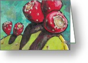Arboretum Greeting Cards - Waiting to be Picked Greeting Card by Sandy Tracey